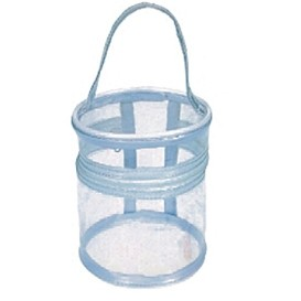 Round Clear Cosmetic Tote Bag